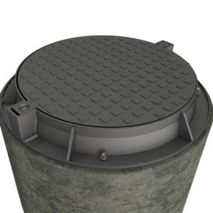Lätt Brunnslock 780 Composite